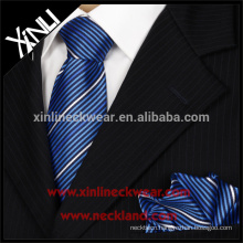 High Fashion 100% Woven Silk Tie And Pocket Square
